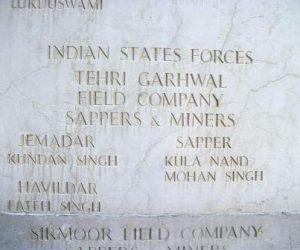 Tehri Garhwal Forces in World War 2 in Imphal Manipur